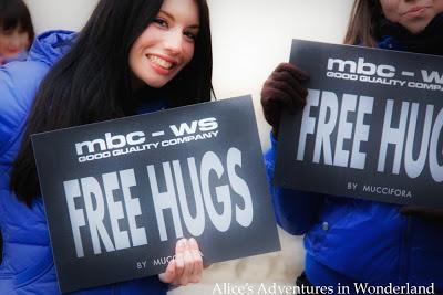 {Free hugs...}