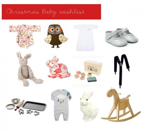 {Baby in Wonderland: Christmas Baby Wishlist}